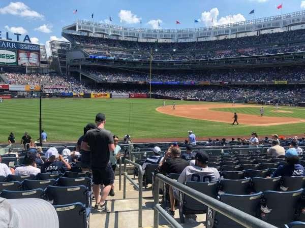 Yankee Stadium, secção: 129, fila: 21, lugar: 1