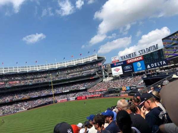 Yankee Stadium, secção: 206, fila: 7, lugar: 15