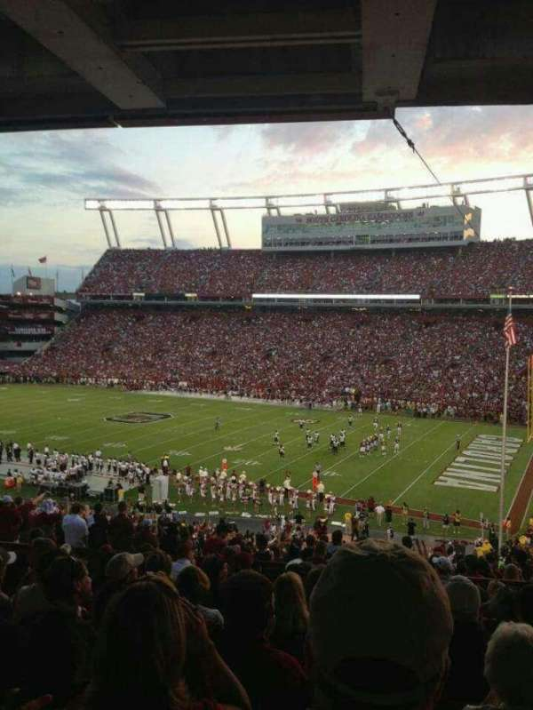 Williams-Brice Stadium, secção: 417, fila: 10, lugar: 6