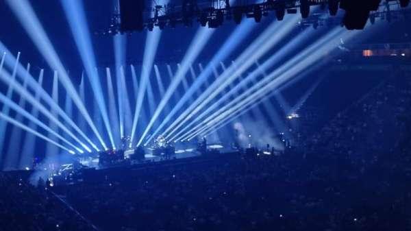 AO Arena, secção: 206, fila: A, lugar: 13