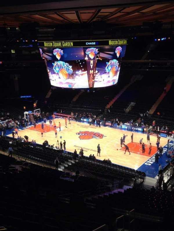 Madison Square Garden, secção: 227, fila: 11, lugar: 10
