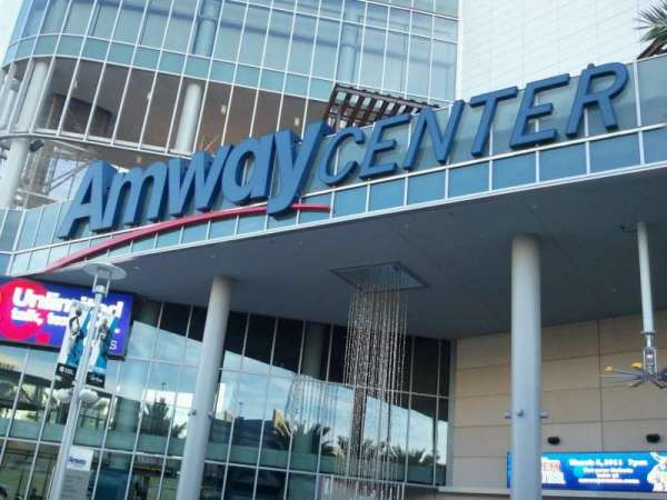 Amway Center, secção: Main Entrance