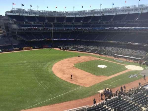 Yankee Stadium, secção: 328, fila: 1, lugar: 19