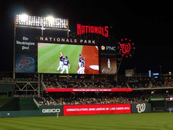 Nationals Park, secção: 113, fila: J, lugar: 15