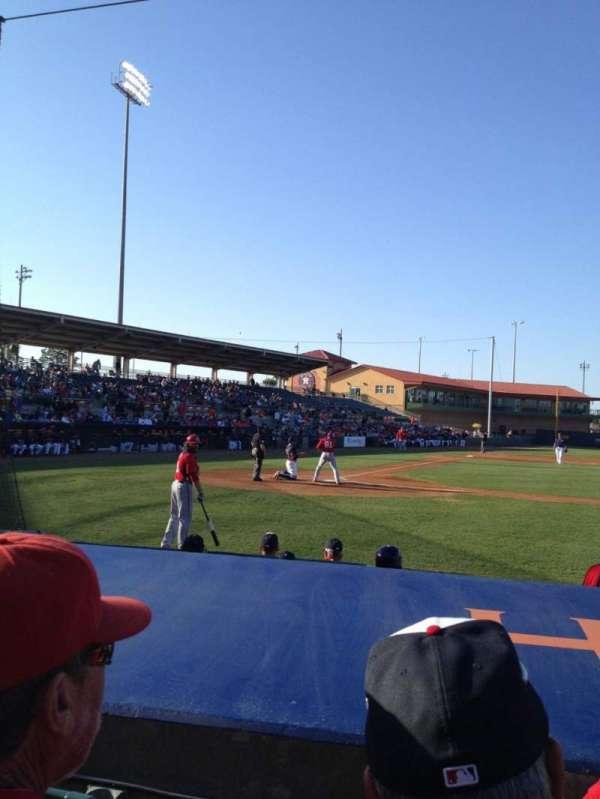 Osceola County Stadium, secção: 113, fila: 8, lugar: 9