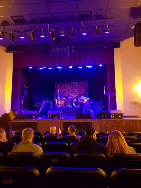 The Lamp Theatre, secção: ORCH C, fila: G, lugar: 104