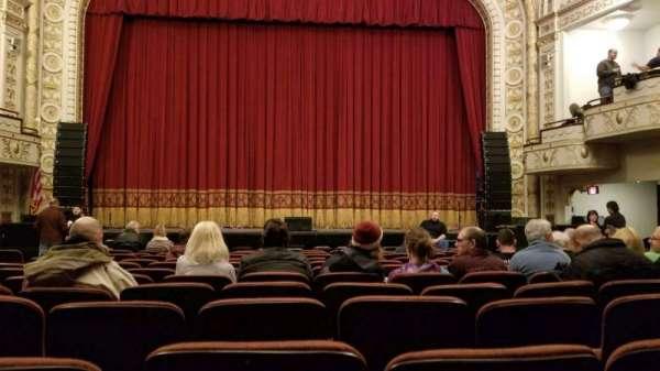 Palace Theatre (Greensburg), secção: ORCH C, fila: L, lugar: 7