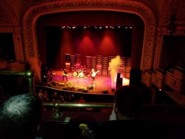Palace Theatre (Greensburg), secção: LOGE Right, fila: BB, lugar: 8