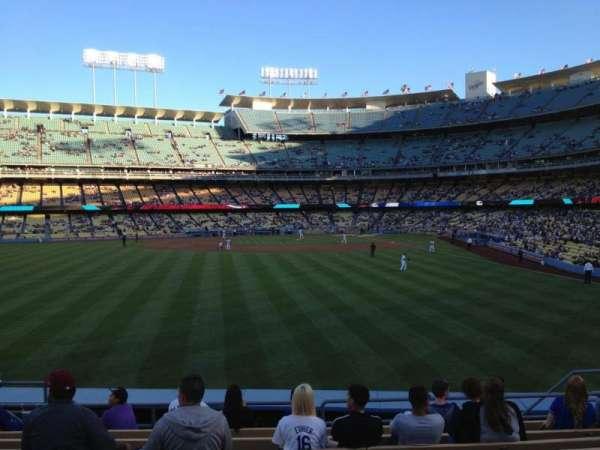 Dodger Stadium, secção: 303PL, fila: K, lugar: 11