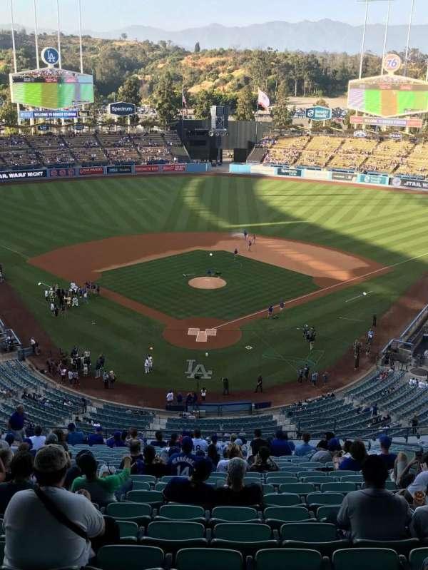 Dodger Stadium, secção: 1RS, fila: W, lugar: 5