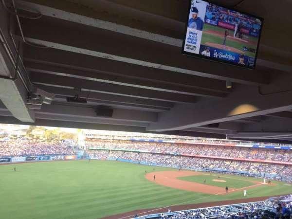 Dodger Stadium, secção: 159LG, fila: W, lugar: 4