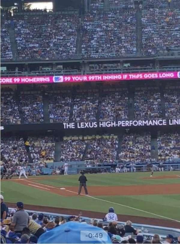 Dodger Stadium , secção: 48FD, fila: N, lugar: 1