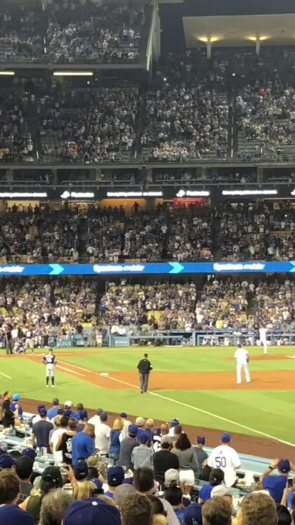 Dodger Stadium, secção: 48FD, fila: N, lugar: 1