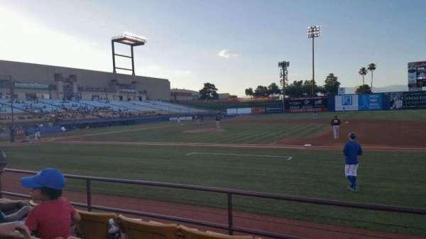 Cashman Field, secção: 18, fila: D, lugar: 8