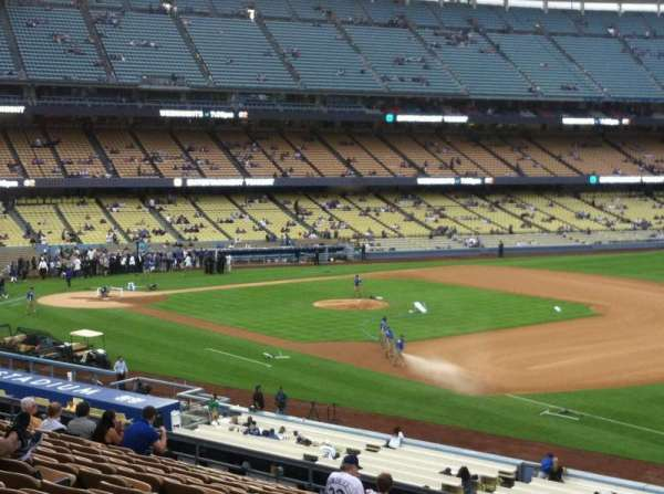Dodger Stadium, secção: 34FD, fila: S, lugar: 1