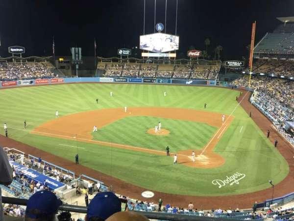 Dodger Stadium, secção: 7RS, fila: C, lugar: 6