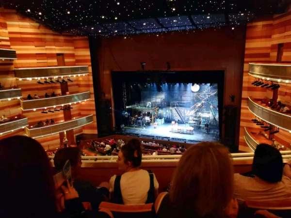 Eccles Theater, secção: 2 TR, fila: C, lugar: 113