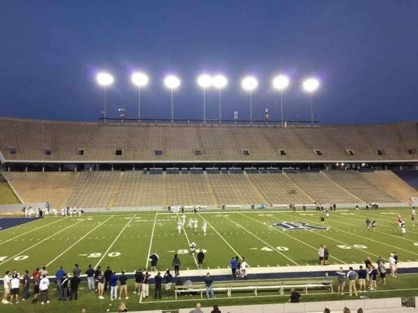Rice Stadium, secção: 104, fila: 41, lugar: 7