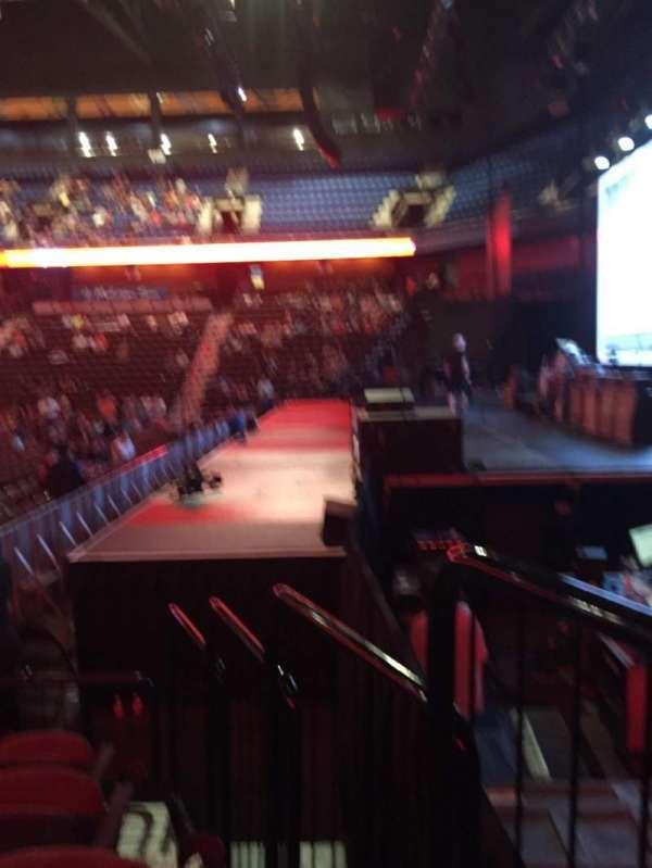 Mohegan Sun Arena, secção: 14, fila: G, lugar: 1