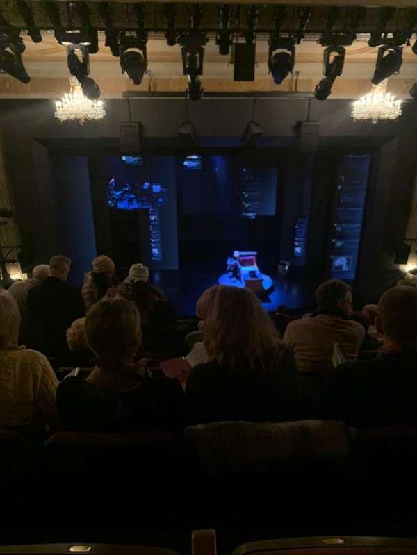 Music Box Theatre, secção: Mezzanine C, fila: K, lugar: 110