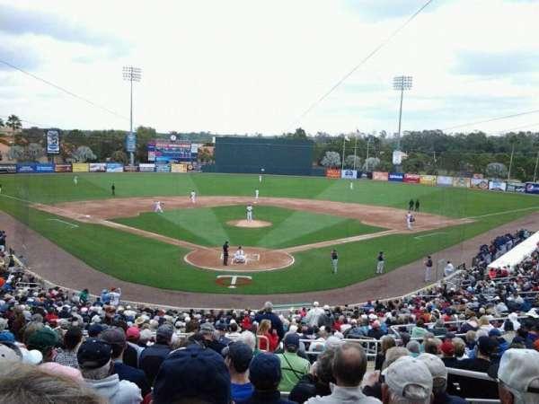 Hammond Stadium at CenturyLink Sports Complex, secção: 209, fila: 13, lugar: 2