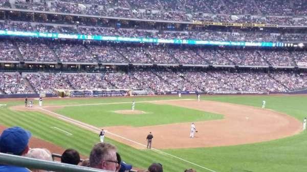 American Family Field, secção: 208, fila: 6, lugar: 2