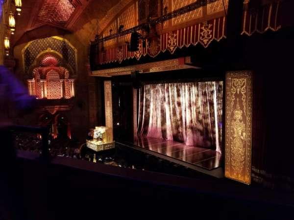 Fox Theatre (Atlanta), secção: Loge Right E, fila: BB, lugar: 34