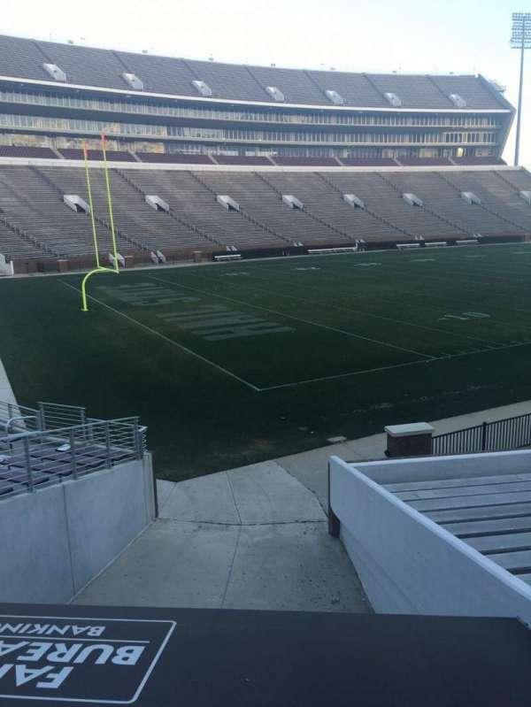 Davis Wade Stadium, secção: 08, fila: 01, lugar: 02