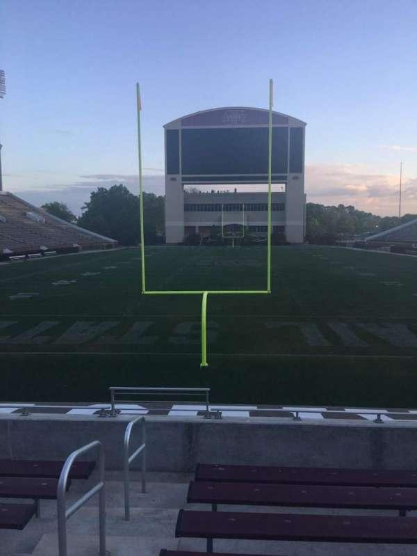 Davis Wade Stadium, secção: 11, fila: 10, lugar: 28