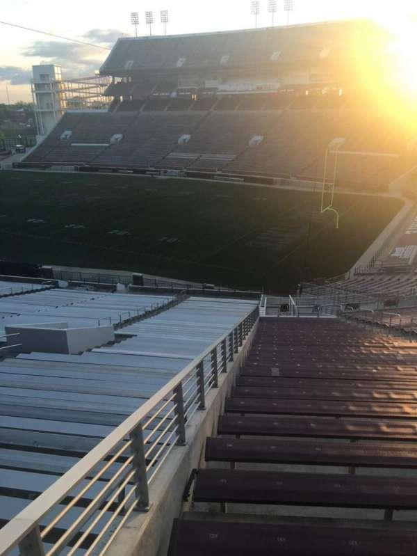 Davis Wade Stadium, secção: 22, fila: 20, lugar: 01