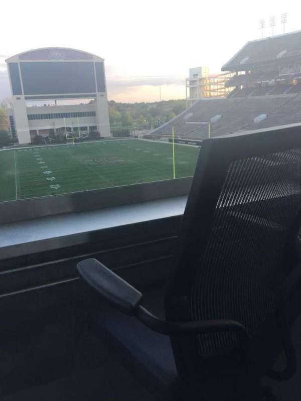 Davis Wade Stadium, secção: Loge