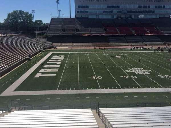 Veterans Memorial Stadium, secção: 213, fila: 1, lugar: 25