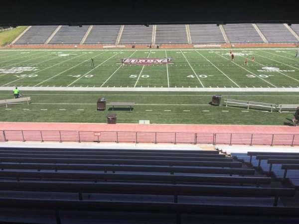 Veterans Memorial Stadium, secção: 108, fila: 17, lugar: 1