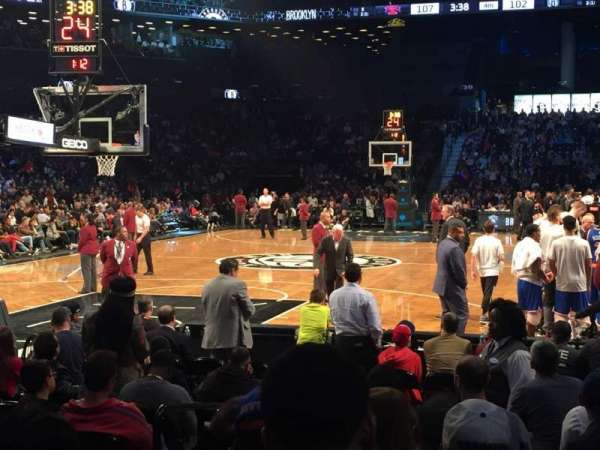 Barclays Center, secção: 15, fila: 5, lugar: 4