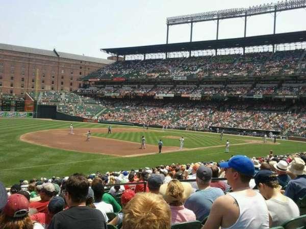 Oriole Park at Camden Yards, secção: 62, fila: 22, lugar: 7