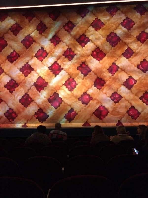 Brooks Atkinson Theatre, secção: Orchestra C, fila: E, lugar: 110