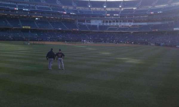 Yankee Stadium, secção: 136, fila: 10, lugar: 21