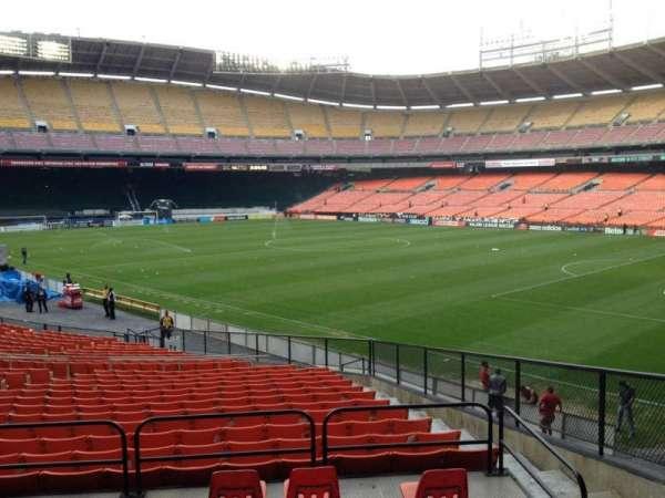 RFK Stadium, secção: 301, fila: 3, lugar: 5