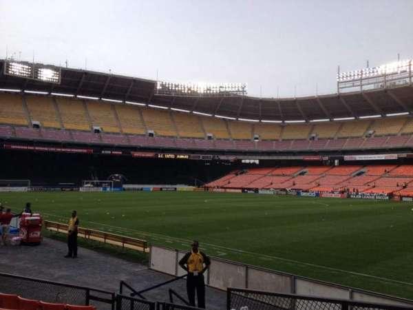 RFK Stadium, secção: 101, fila: 8, lugar: 11