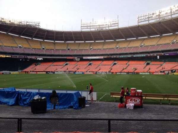 RFK Stadium, secção: 104, fila: 7, lugar: 8