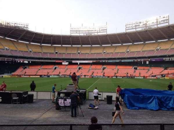 RFK Stadium, secção: 106, fila: 7, lugar: 6