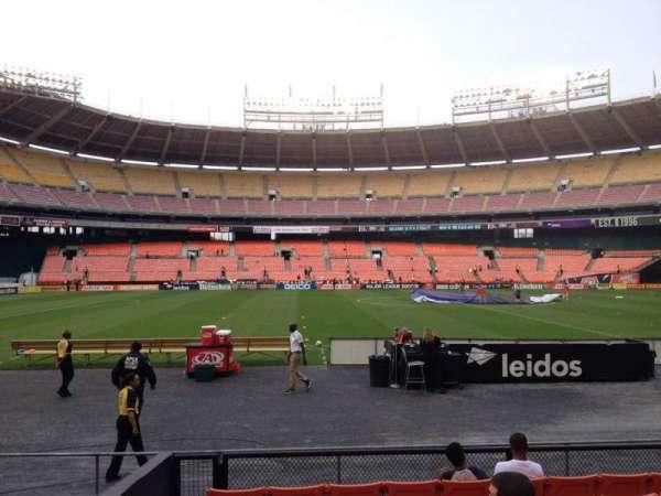 RFK Stadium, secção: 108, fila: 8, lugar: 12