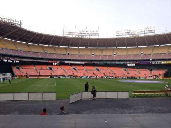 RFK Stadium, secção: 111, fila: 8, lugar: 7
