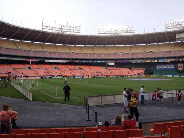 RFK Stadium, secção: 114, fila: 7, lugar: 7
