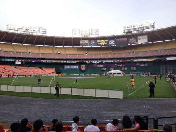 RFK Stadium, secção: 117, fila: 6, lugar: 6