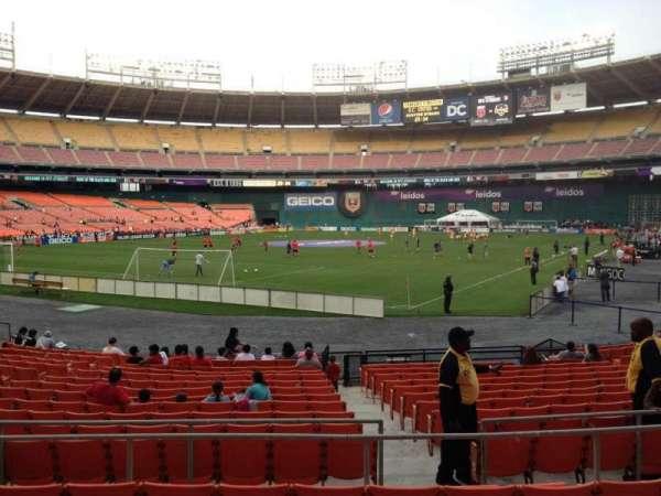 RFK Stadium, secção: 215, fila: 6, lugar: 10