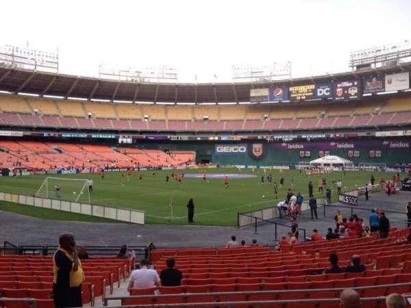 RFK Stadium, secção: 215, fila: 6, lugar: 11