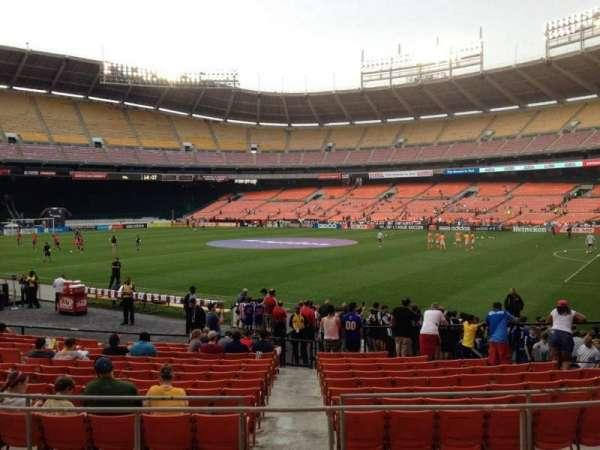 RFK Stadium, secção: 202, fila: 6, lugar: 8