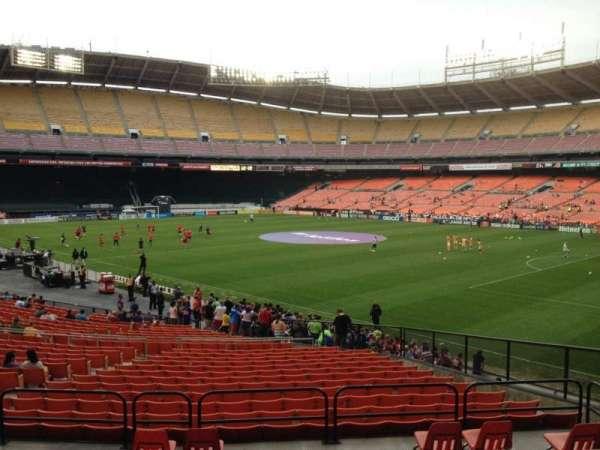 RFK Stadium, secção: 301, fila: 5, lugar: 10