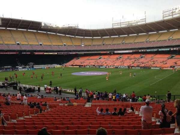 RFK Stadium, secção: 302, fila: 5, lugar: 12